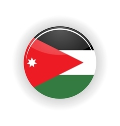 Jordan icon circle vector image