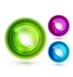 Liquid buttons vector