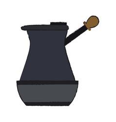 Turkish coffee pot icon image vector