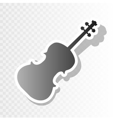 violine sign new year vector image