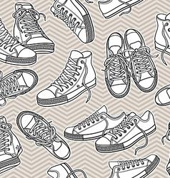 sportshoes vector image