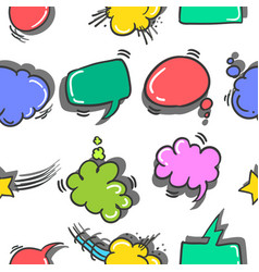 Collection stock of text balloon colorful vector