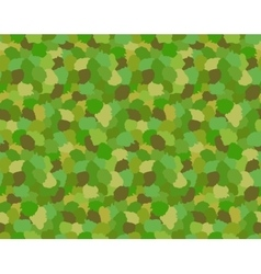 Green Camouflage Military Pattern vector image