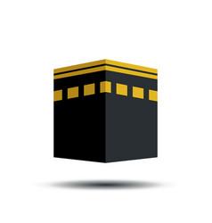 Kaaba sign symbol design vector