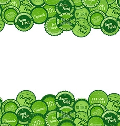 label sticker vector image