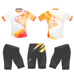 Sports graphics t-shirt vector