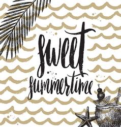 Sweet summertime vector