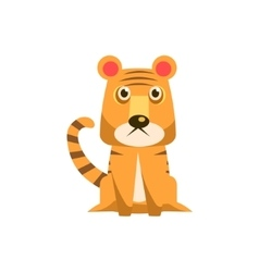 Tiger Funny vector