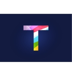 T letter logo icon symbol vector image