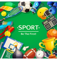 Sport Inventory vector image vector image