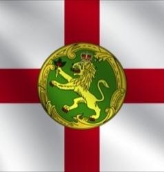 Alderney flag vector image
