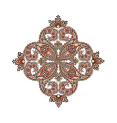 Arabic ornament background oriental ethnic vector