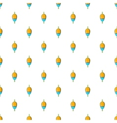 Bobber pattern cartoon style vector