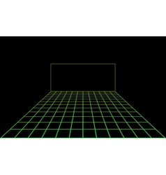 disco light dance floor vector image