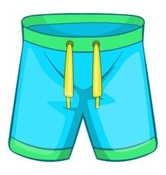 Sport shorts icon cartoon style vector