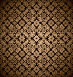 gold leaf wallpaper vector image vector image