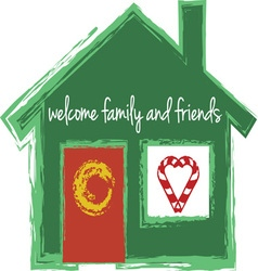 Welcome Family vector image vector image