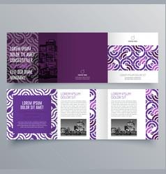 brochure design brochure template vector image