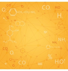 chemical abstract background vector image