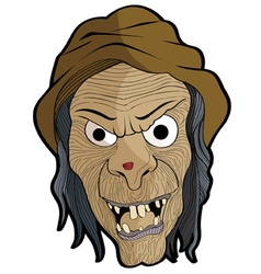 Mask Halloween Set 6 vector image