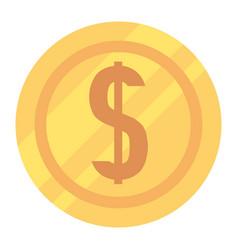 money coin cartoon vector image