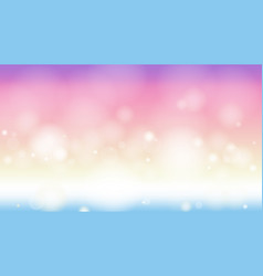 twilight gradient bokeh abstract web page screen vector image