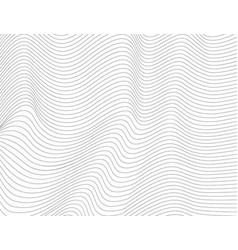 wavy abstract dark lines vector image