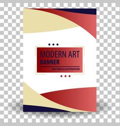 Website header or banner vector