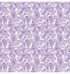 Mehendy pattern vector image vector image