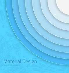 Bright Colorfull Material Design Abstract Circles vector image vector image