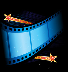 movie grand premiere vector image vector image