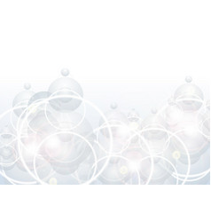 abstract shiny circles background vector image