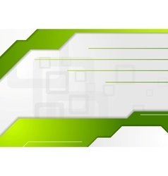 Abstract tech geometric corporate background vector