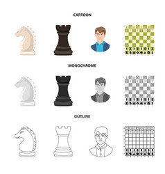 checkmate and thin sign vector image