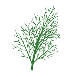dill icon vector image