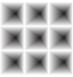 Inward concave surround the square vector