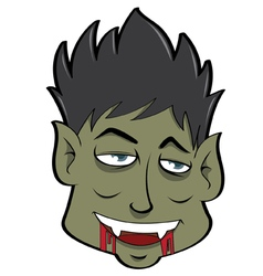 Mask Halloween Set 7 vector image