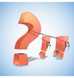 Question and answers vector