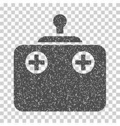 Remote Control Grainy Texture Icon vector