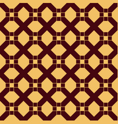 square cross seamless pattern vector image