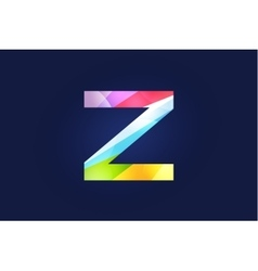Z letter logo icon symbol vector image