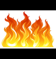 A fire vector image