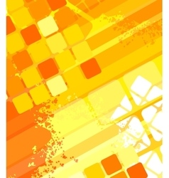 Abstract seamless squares vector image