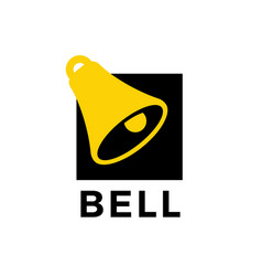 bell logo icon vector image