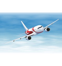 Commerical aircraft vector image