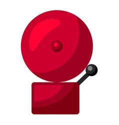 fire alarm firefighting item vector image