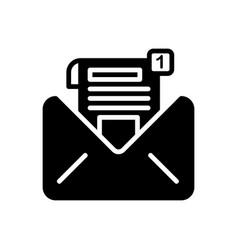 inbox message vector image