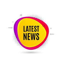 Latest news symbol media newspaper sign vector