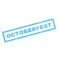 Octoberfest Rubber Stamp vector