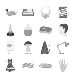 Organs education nature and other web icon in vector